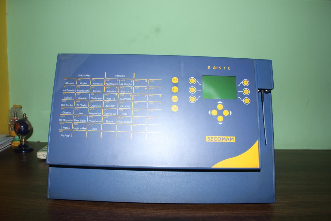 Automated Biochem Analyser